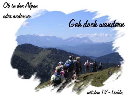 Wanderwoche Jachenau